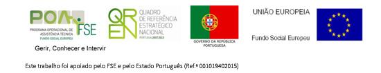Este trabalho foi apoiado pelo FSE e pelo Estado Português (Ref.ª 001019402015)